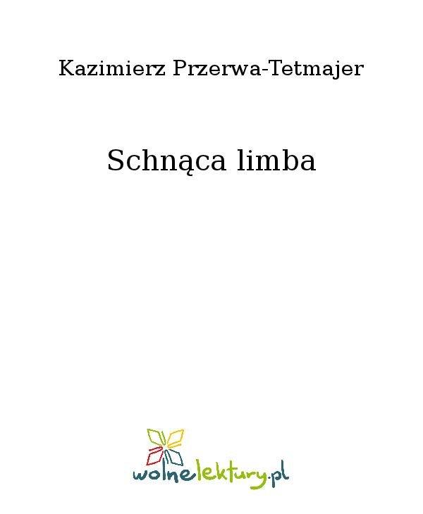 Schnąca limba - Ebook (Książka na Kindle) do pobrania w formacie MOBI