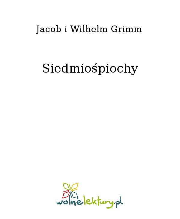 Siedmiośpiochy - Ebook (Książka na Kindle) do pobrania w formacie MOBI