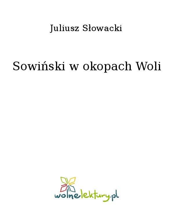Sowiński w okopach Woli - Ebook (Książka na Kindle) do pobrania w formacie MOBI