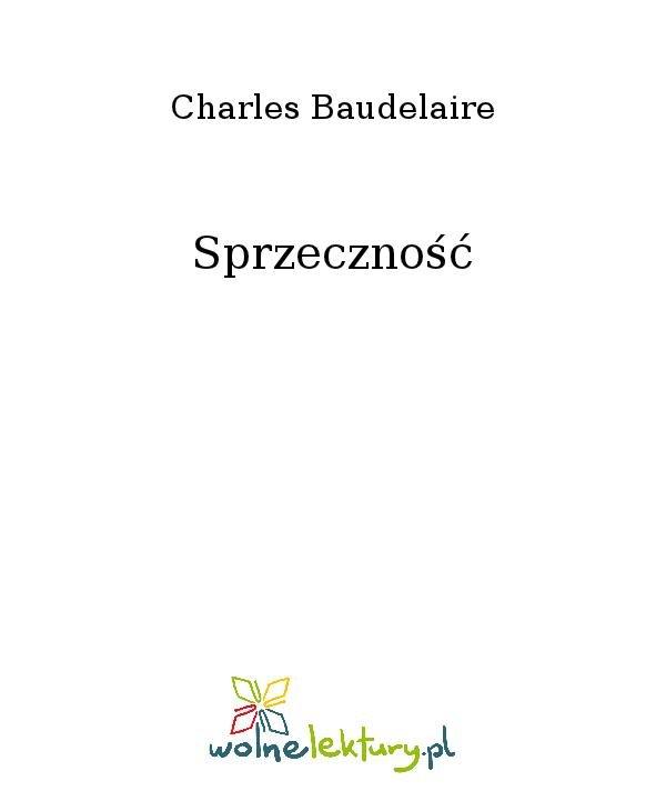 Sprzeczność - Ebook (Książka na Kindle) do pobrania w formacie MOBI