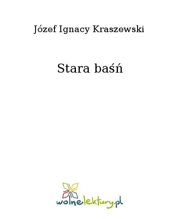 Stara baśń - Ebook (Książka na Kindle) do pobrania w formacie MOBI