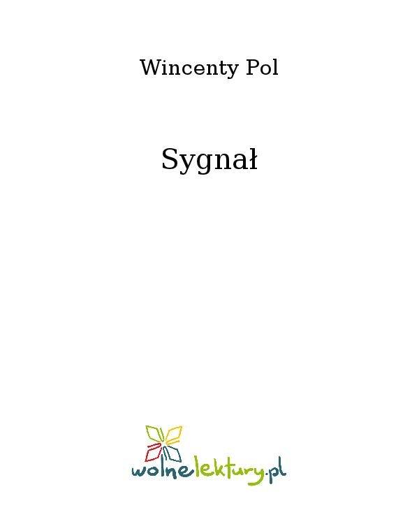 Sygnał - Ebook (Książka na Kindle) do pobrania w formacie MOBI