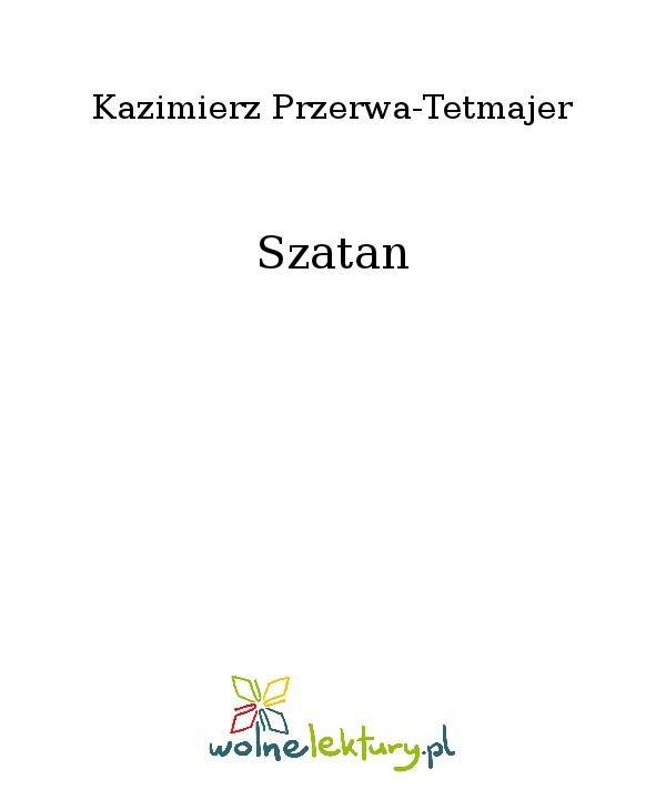 Szatan - Ebook (Książka na Kindle) do pobrania w formacie MOBI