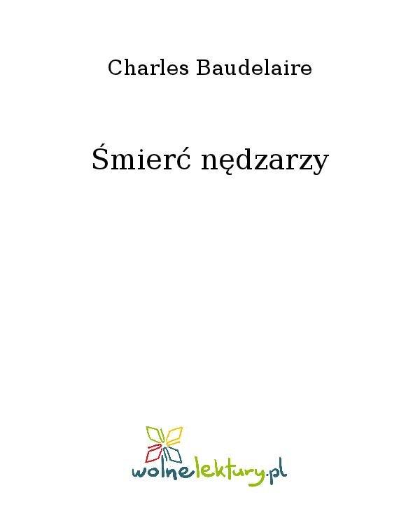 Śmierć nędzarzy - Ebook (Książka na Kindle) do pobrania w formacie MOBI