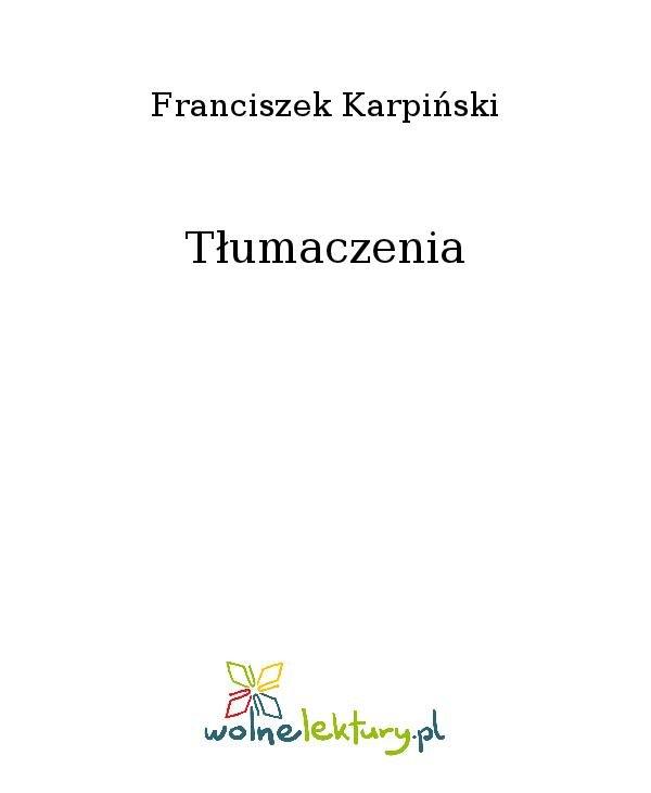 Tłumaczenia - Ebook (Książka na Kindle) do pobrania w formacie MOBI