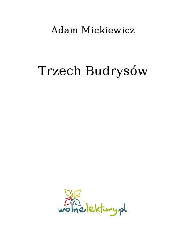 Trzech Budrysów - Ebook (Książka na Kindle) do pobrania w formacie MOBI