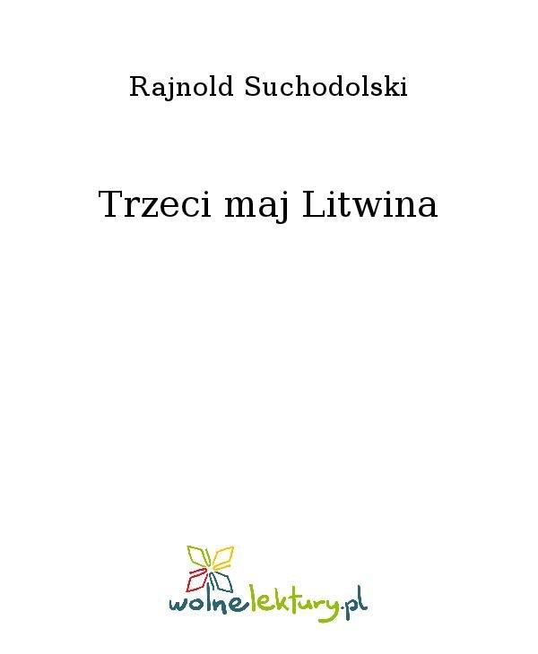 Trzeci maj Litwina - Ebook (Książka na Kindle) do pobrania w formacie MOBI