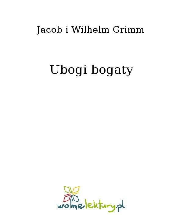 Ubogi bogaty - Ebook (Książka na Kindle) do pobrania w formacie MOBI