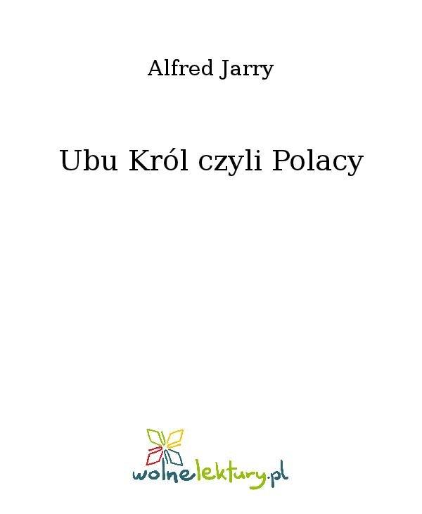 Ubu Król czyli Polacy - Ebook (Książka na Kindle) do pobrania w formacie MOBI