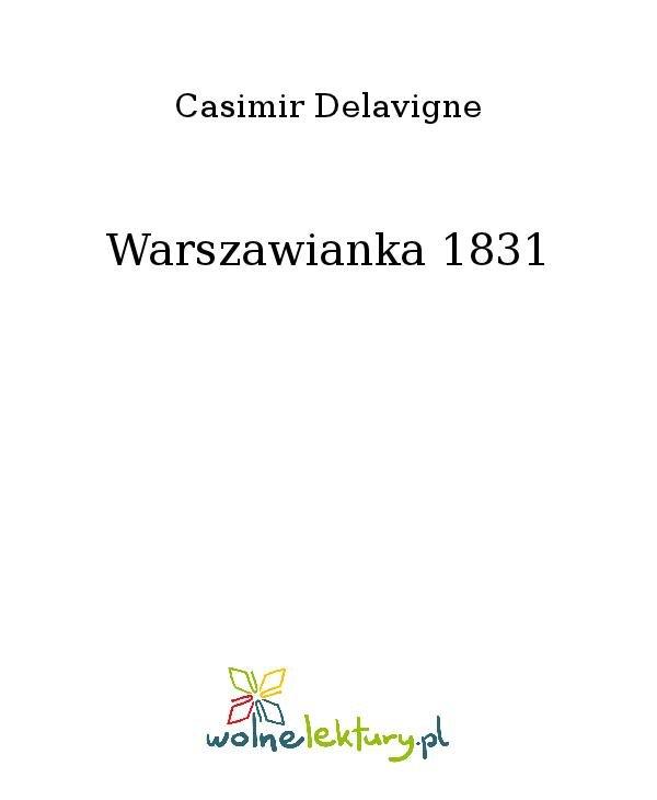Warszawianka 1831 - Ebook (Książka na Kindle) do pobrania w formacie MOBI