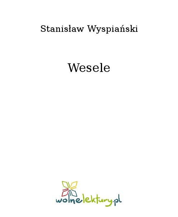 Wesele - Ebook (Książka na Kindle) do pobrania w formacie MOBI