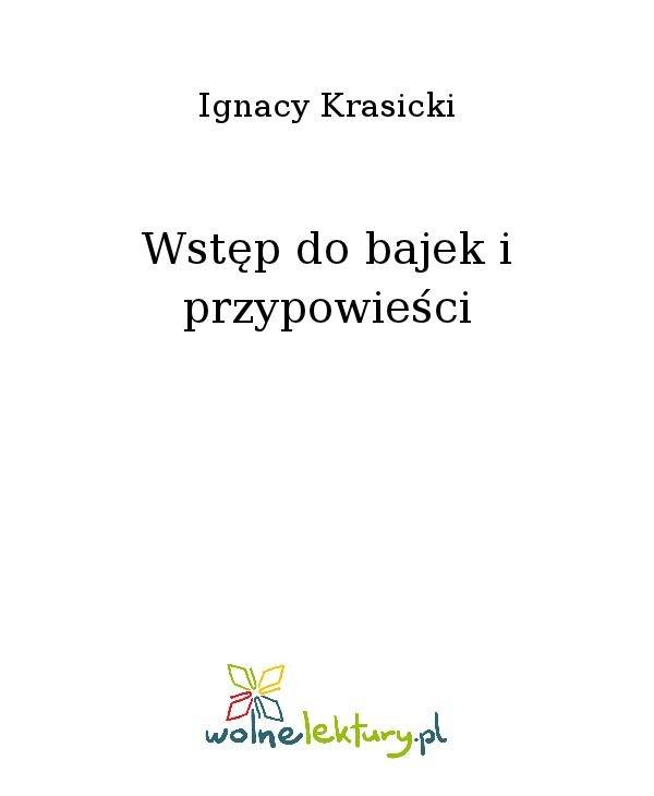 Wstęp do bajek i przypowieści - Ebook (Książka na Kindle) do pobrania w formacie MOBI