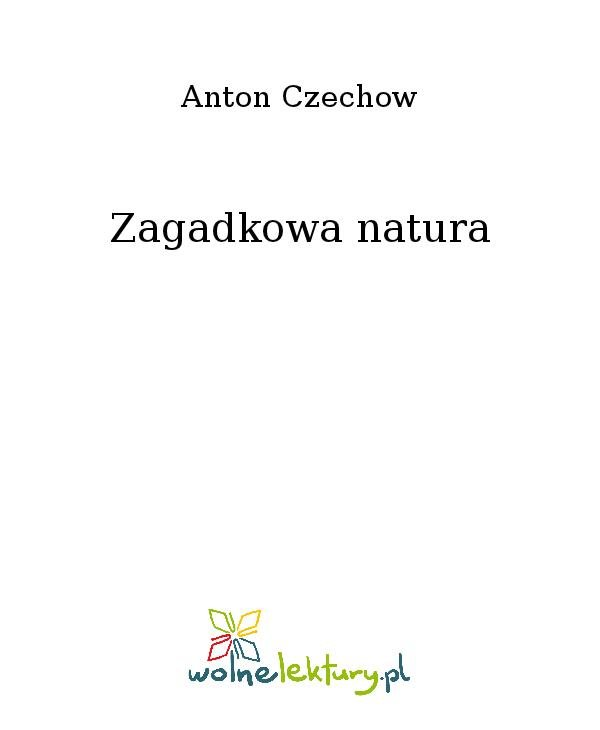 Zagadkowa natura - Ebook (Książka na Kindle) do pobrania w formacie MOBI