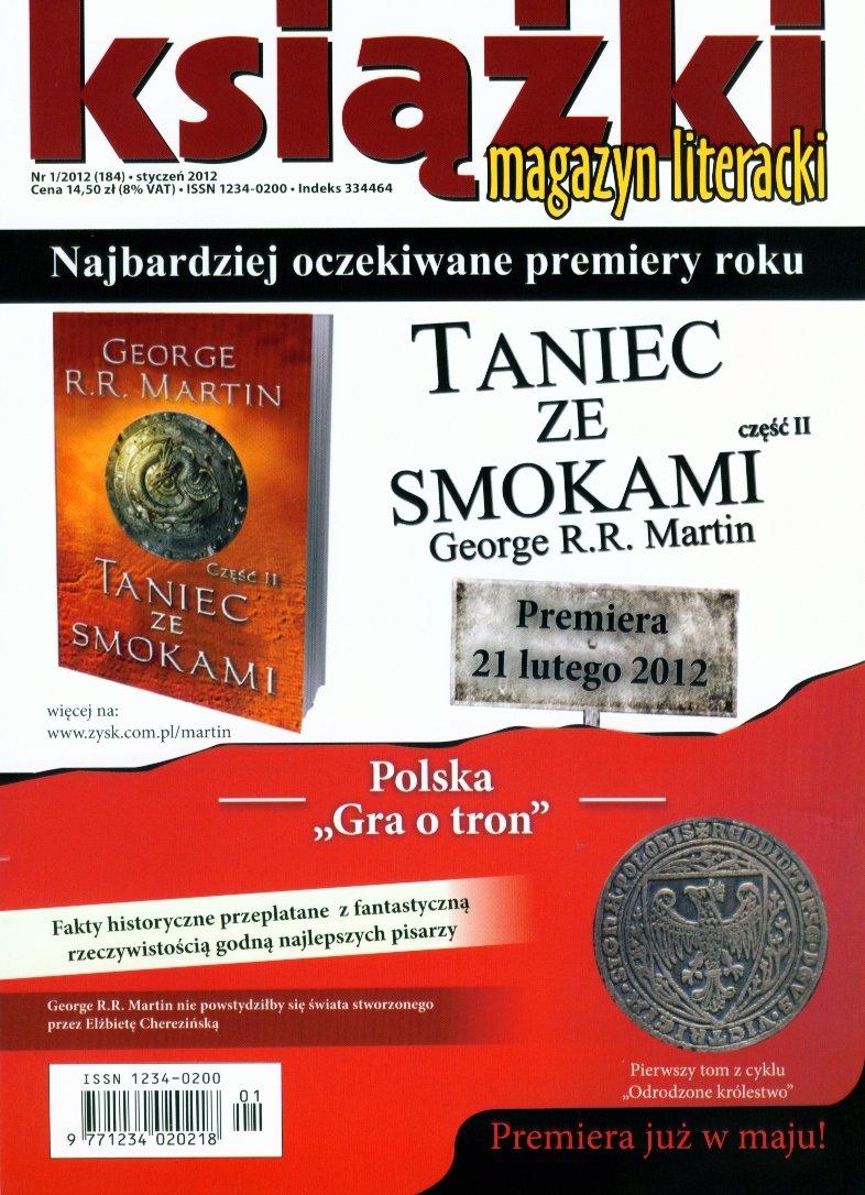 Magazyn Literacki KSIĄŻKI - nr 1/2012 (184) - Ebook (Książka PDF) do pobrania w formacie PDF
