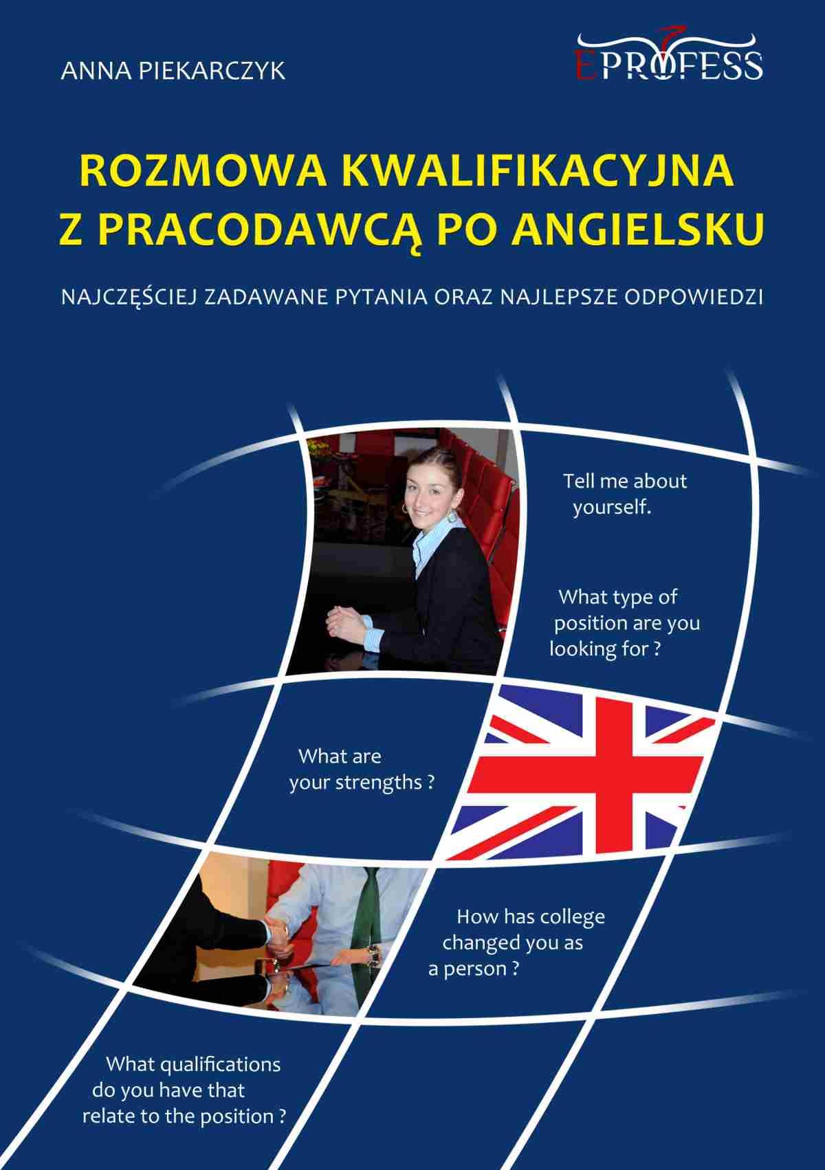 Rozmowa Kwalifikacyjna z Pracodawcą Po Angielsku - Ebook (Książka EPUB) do pobrania w formacie EPUB