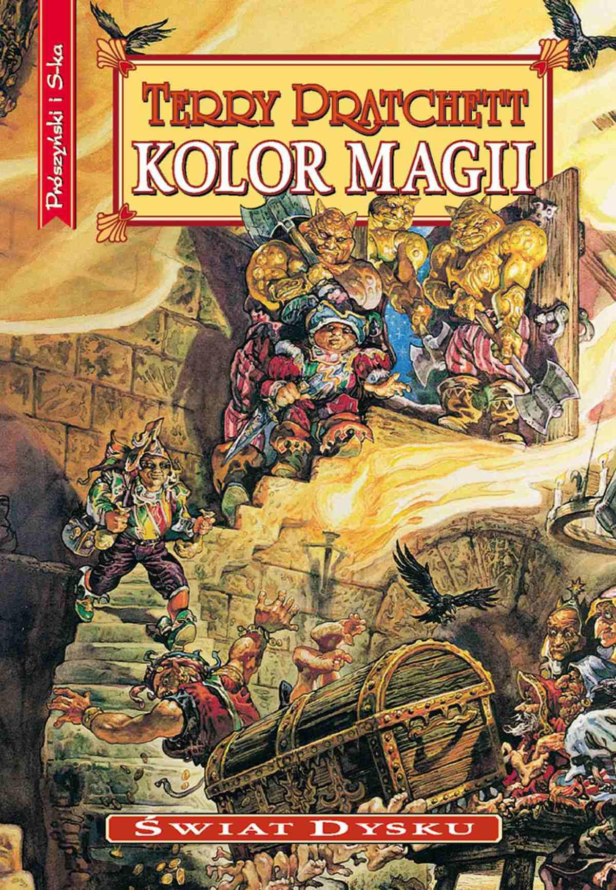 Kolor magii - Ebook (Książka na Kindle) do pobrania w formacie MOBI
