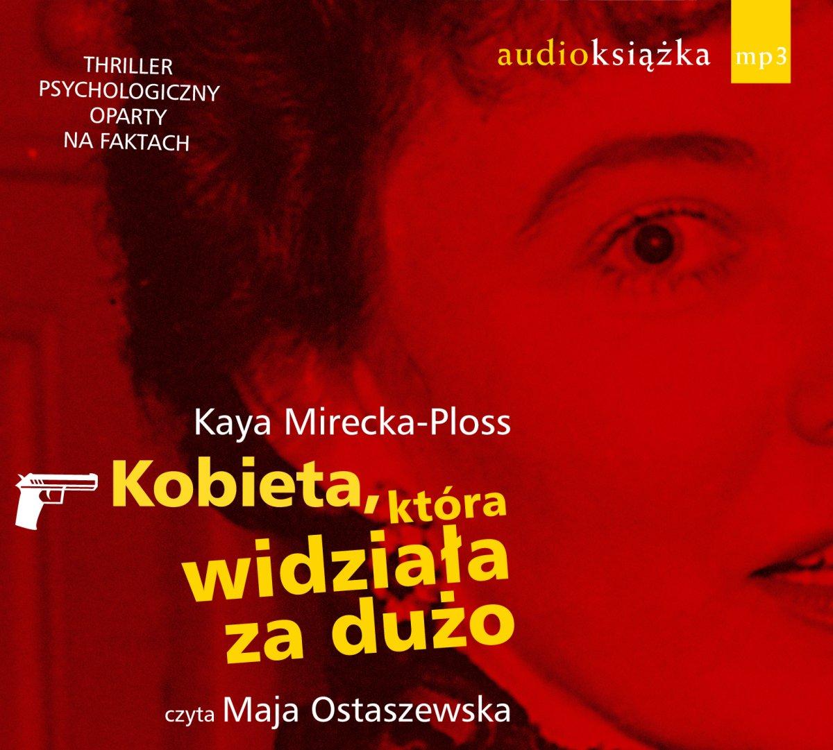 Kobieta, która widziała za dużo - Audiobook (Książka audio MP3) do pobrania w całości w archiwum ZIP
