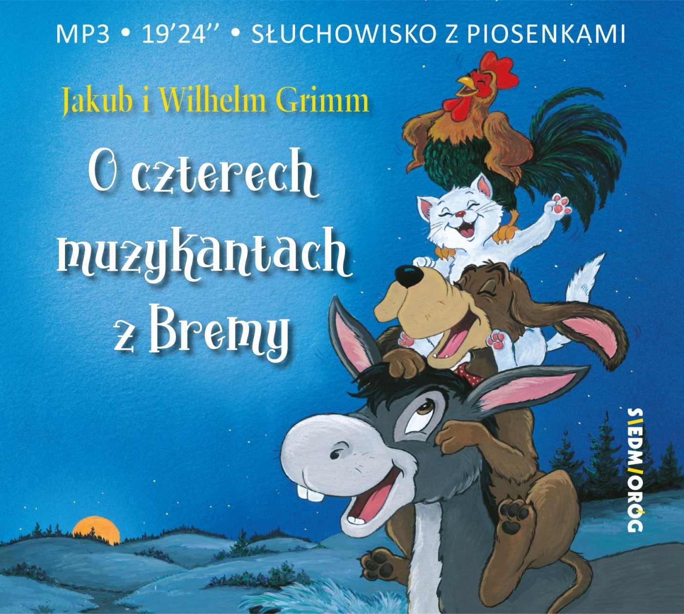 O czterech muzykantach z Bremy - Audiobook (Książka audio MP3) do pobrania w całości w archiwum ZIP