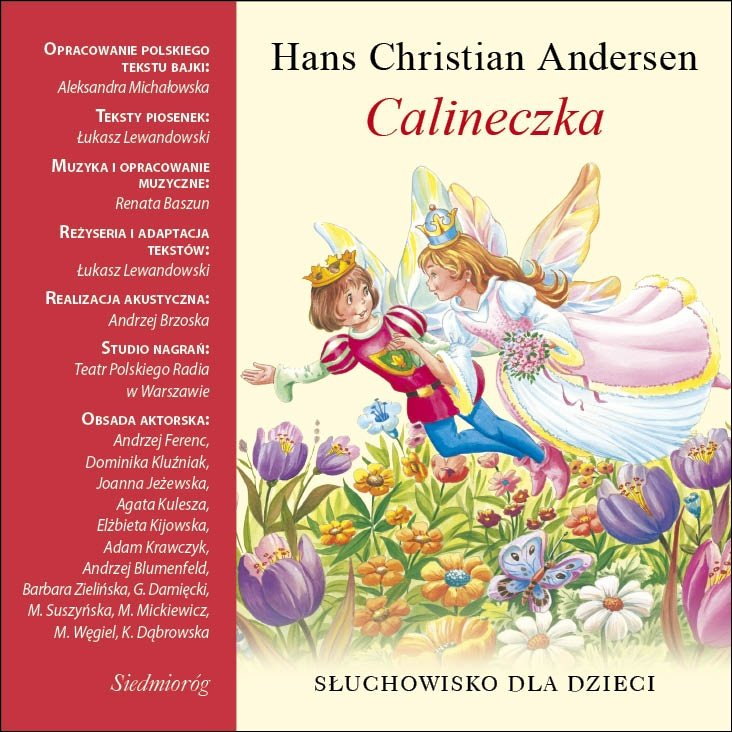 Calineczka - Audiobook (Książka audio MP3) do pobrania w całości w archiwum ZIP