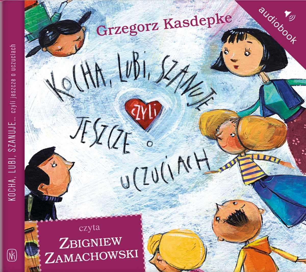 Kocha, lubi, szanuje, czyli jeszcze o uczuciach - Audiobook (Książka audio MP3) do pobrania w całości w archiwum ZIP