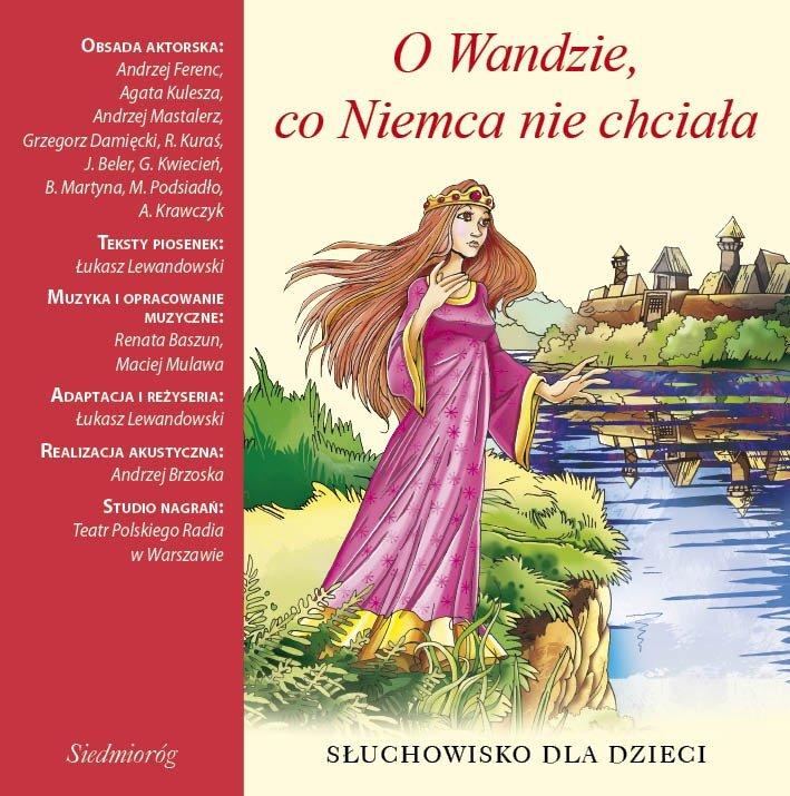 O Wandzie, co Niemca nie chciała - Audiobook (Książka audio MP3) do pobrania w całości w archiwum ZIP