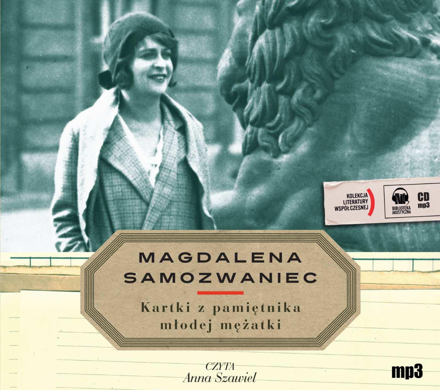 Kartki z pamiętnika młodej mężatki - Audiobook (Książka audio MP3) do pobrania w całości w archiwum ZIP
