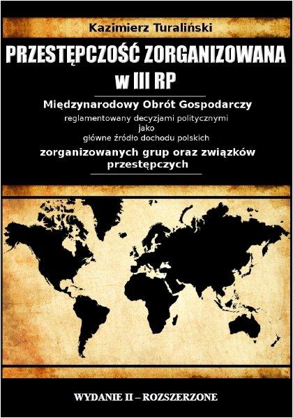 Przestępczość zorganizowana w III RP - Ebook (Książka PDF) do pobrania w formacie PDF