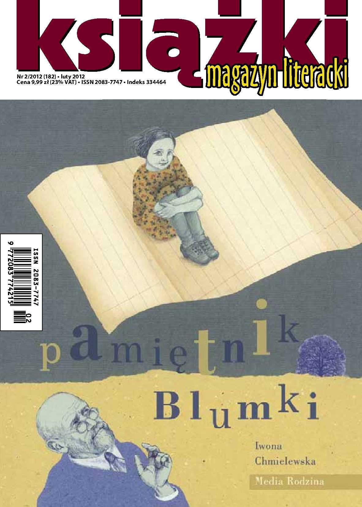 Magazyn Literacki KSIĄŻKI - nr 2/2012 (185) - Ebook (Książka PDF) do pobrania w formacie PDF