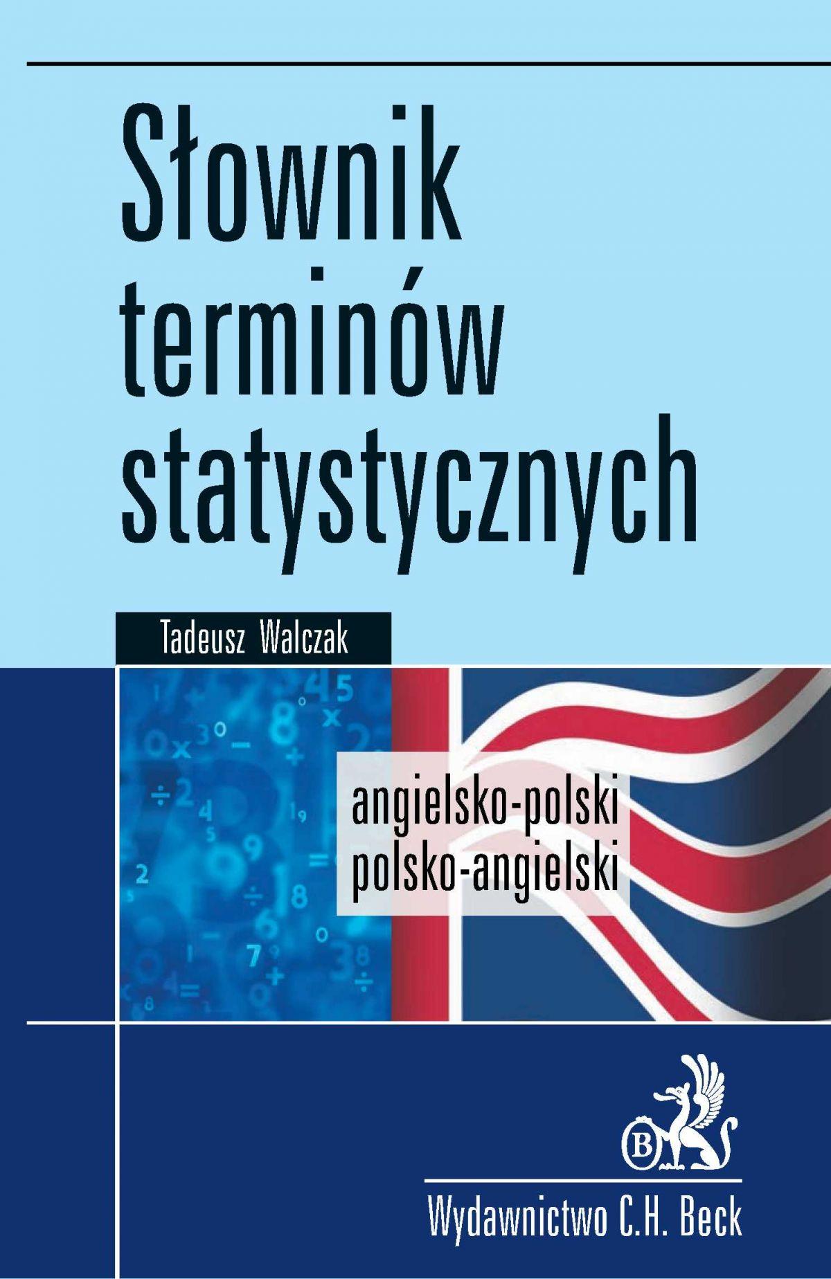 Słownik terminów statystycznych angielsko-polski polsko-angielski - Ebook (Książka PDF) do pobrania w formacie PDF