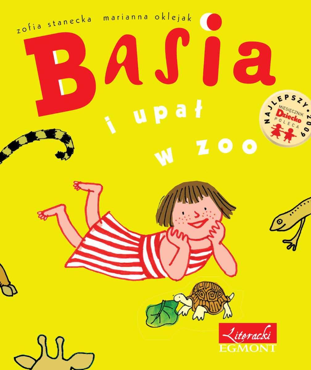Basia i upał w zoo - Ebook (Książka PDF) do pobrania w formacie PDF