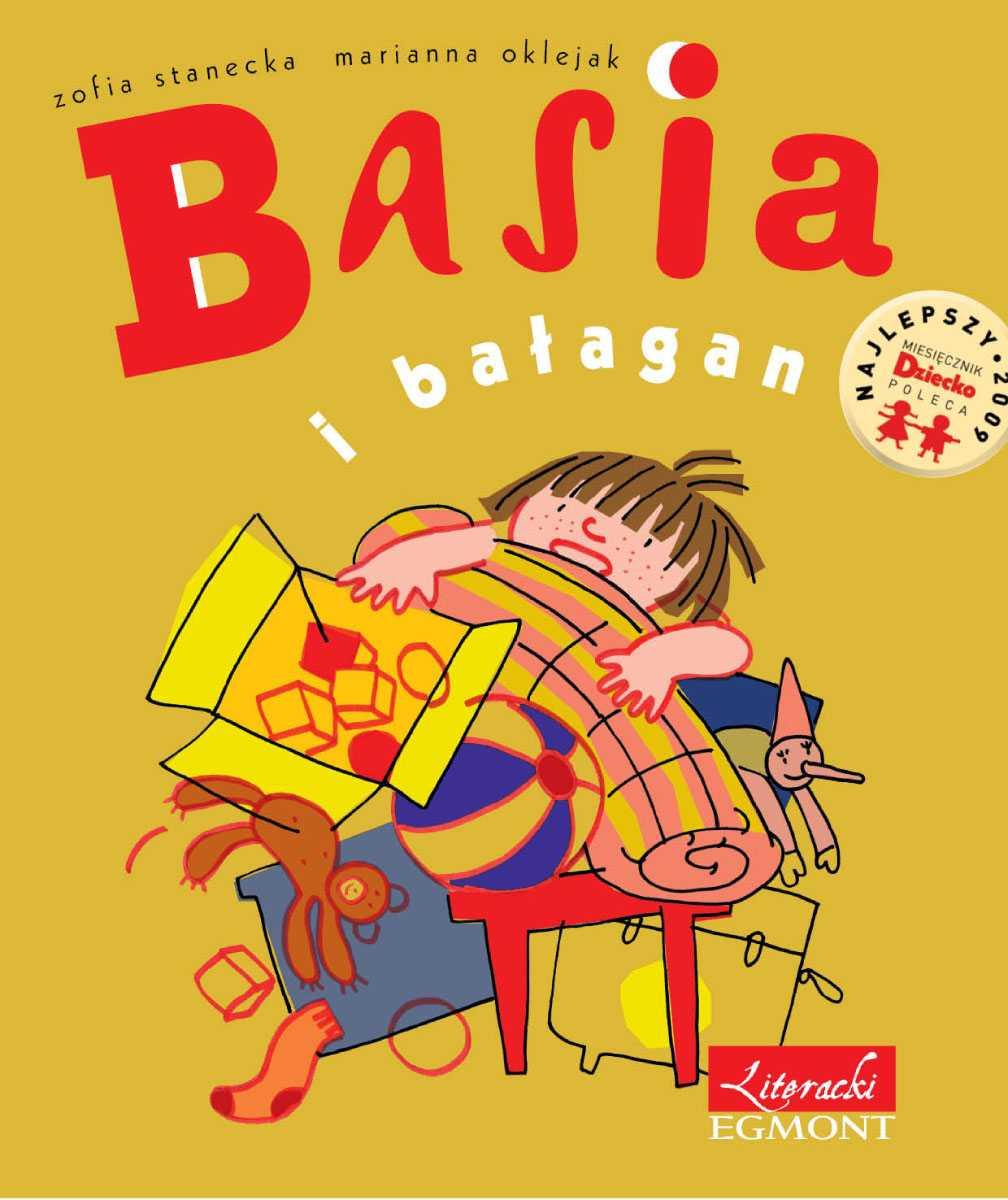 Basia i bałagan - Ebook (Książka PDF) do pobrania w formacie PDF