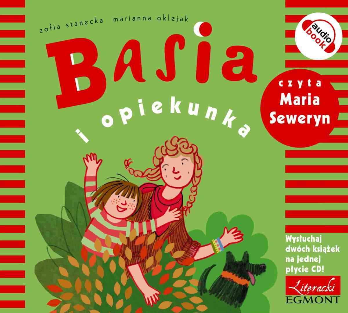 Basia i opiekunka - Audiobook (Książka audio MP3) do pobrania w całości w archiwum ZIP