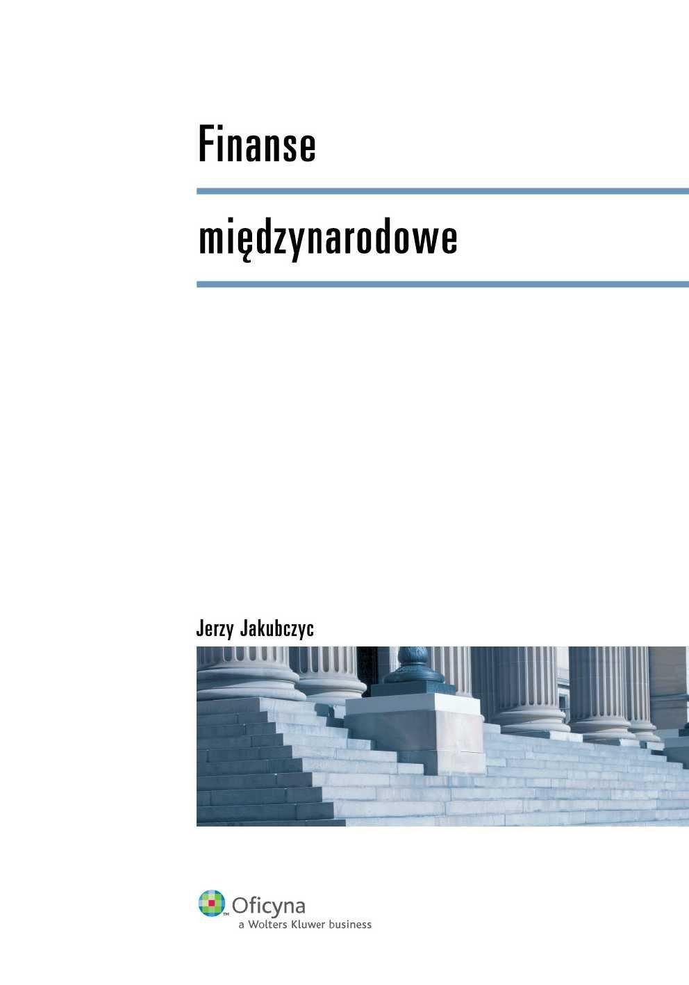 Finanse międzynarodowe - Ebook (Książka PDF) do pobrania w formacie PDF