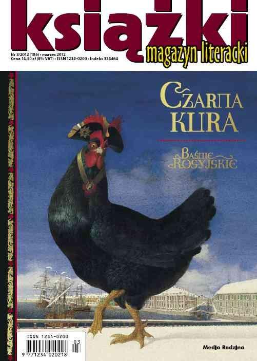 Magazyn Literacki KSIĄŻKI - nr 3/2012 (186) - Ebook (Książka PDF) do pobrania w formacie PDF