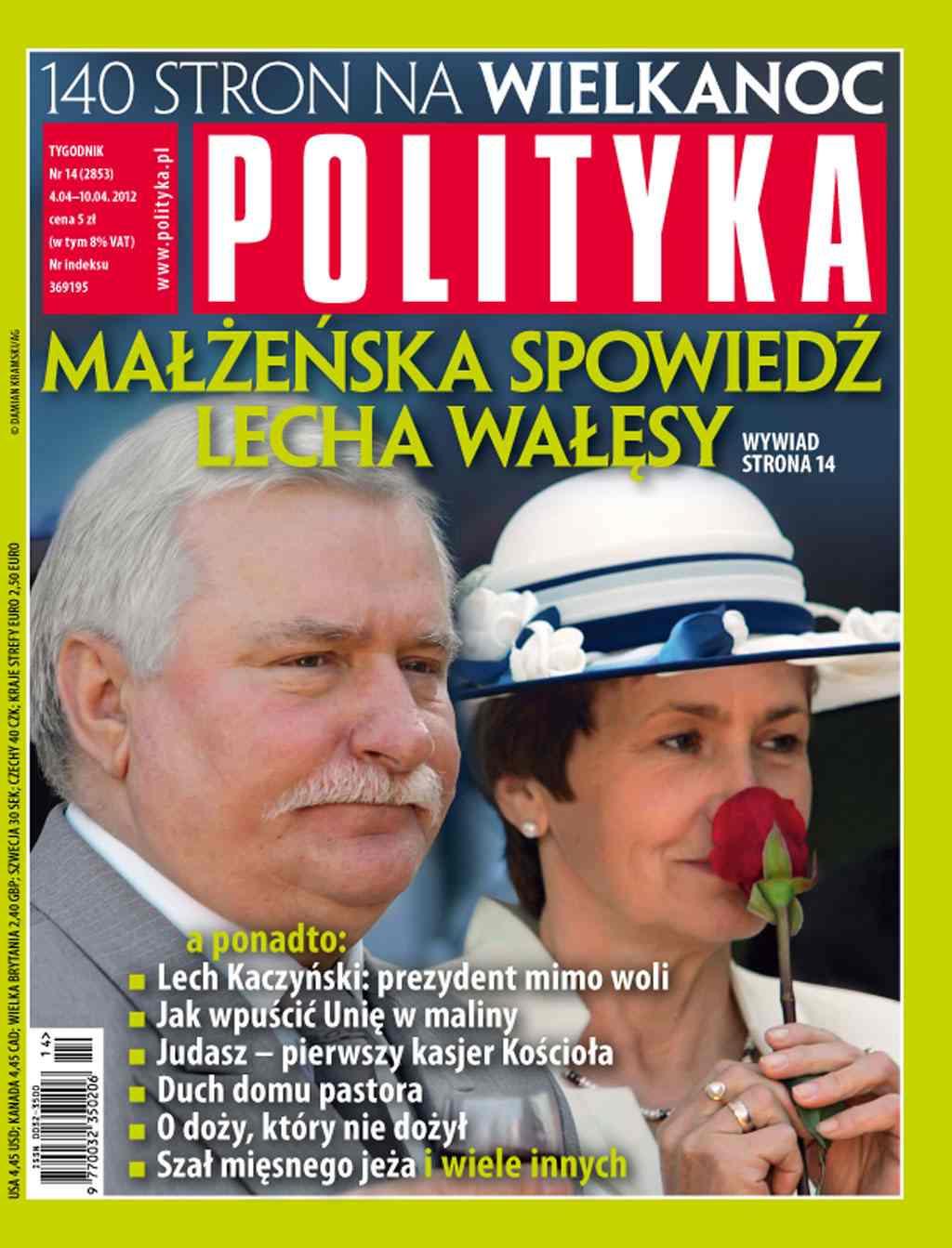Polityka nr 14/2012 - Ebook (Książka PDF) do pobrania w formacie PDF