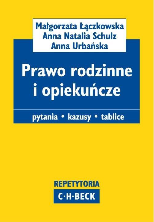 Prawo rodzinne i opiekuńcze Pytania. Kazusy. Tablice - Ebook (Książka PDF) do pobrania w formacie PDF