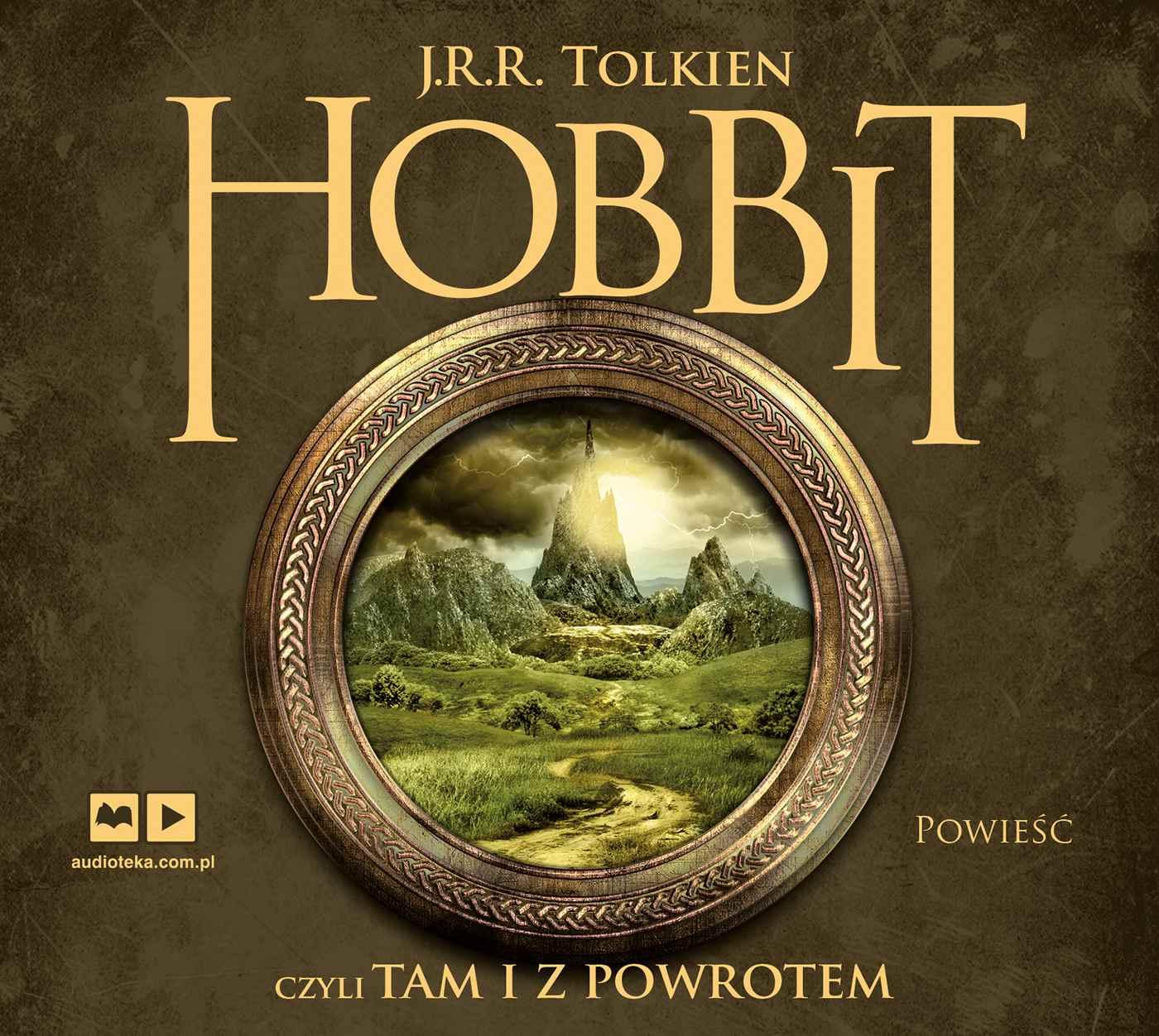 Hobbit, czyli tam i z powrotem - Audiobook (Książka audio MP3) do pobrania w całości w archiwum ZIP