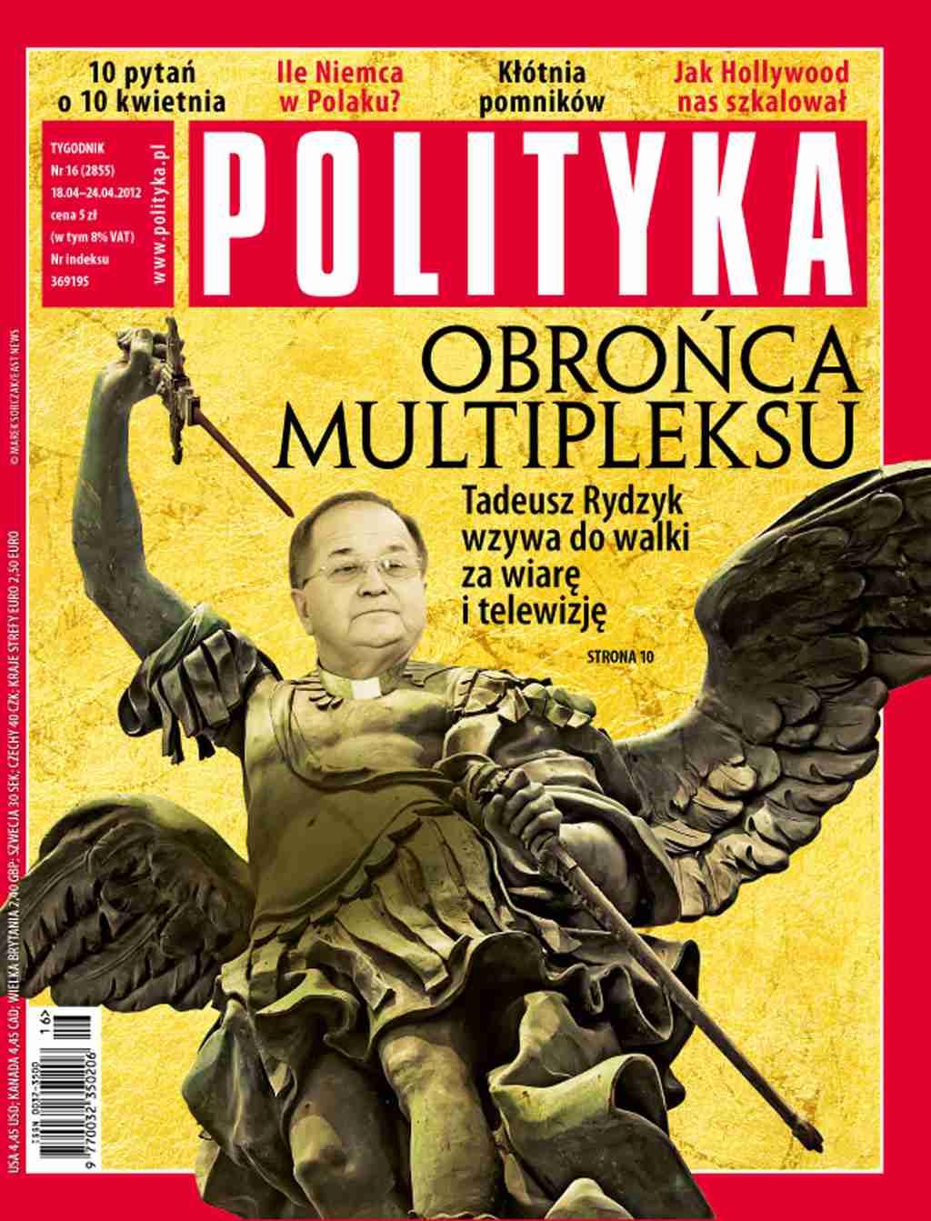Polityka nr 16/2012 - Ebook (Książka PDF) do pobrania w formacie PDF