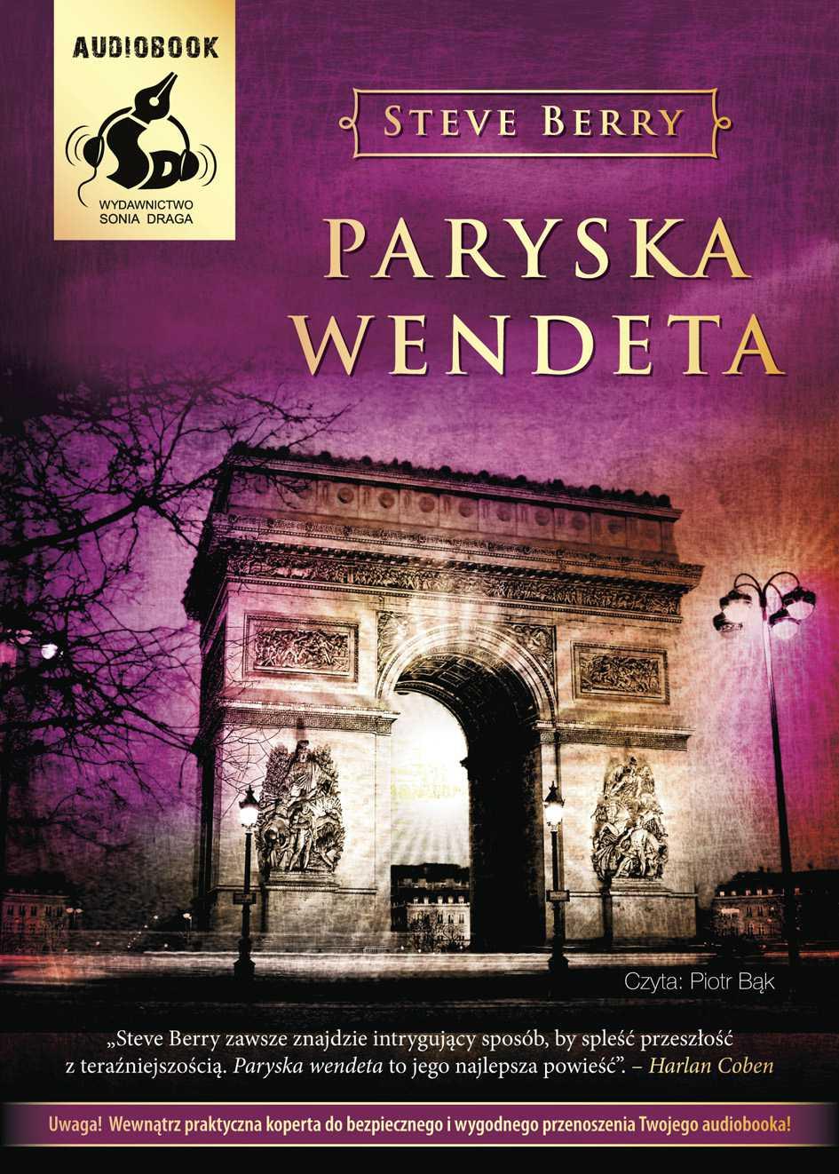 Paryska wendeta - Audiobook (Książka audio MP3) do pobrania w całości w archiwum ZIP