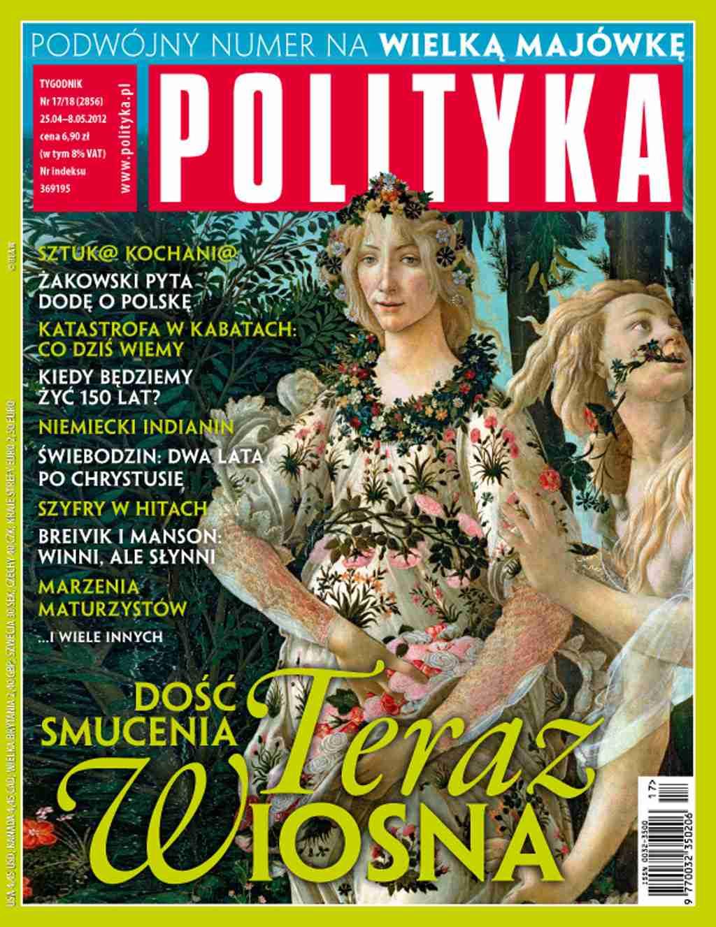 Polityka nr 17/18/2012 - Ebook (Książka PDF) do pobrania w formacie PDF