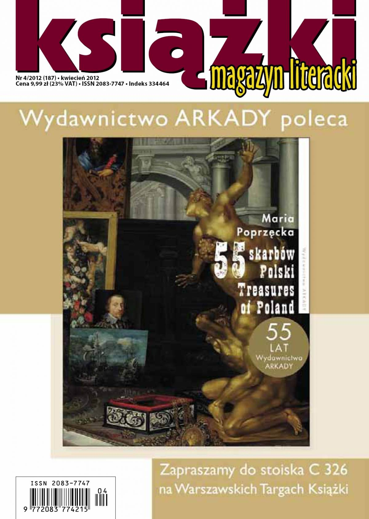 Magazyn Literacki KSIĄŻKI - nr 4/2012 (187) - Ebook (Książka PDF) do pobrania w formacie PDF
