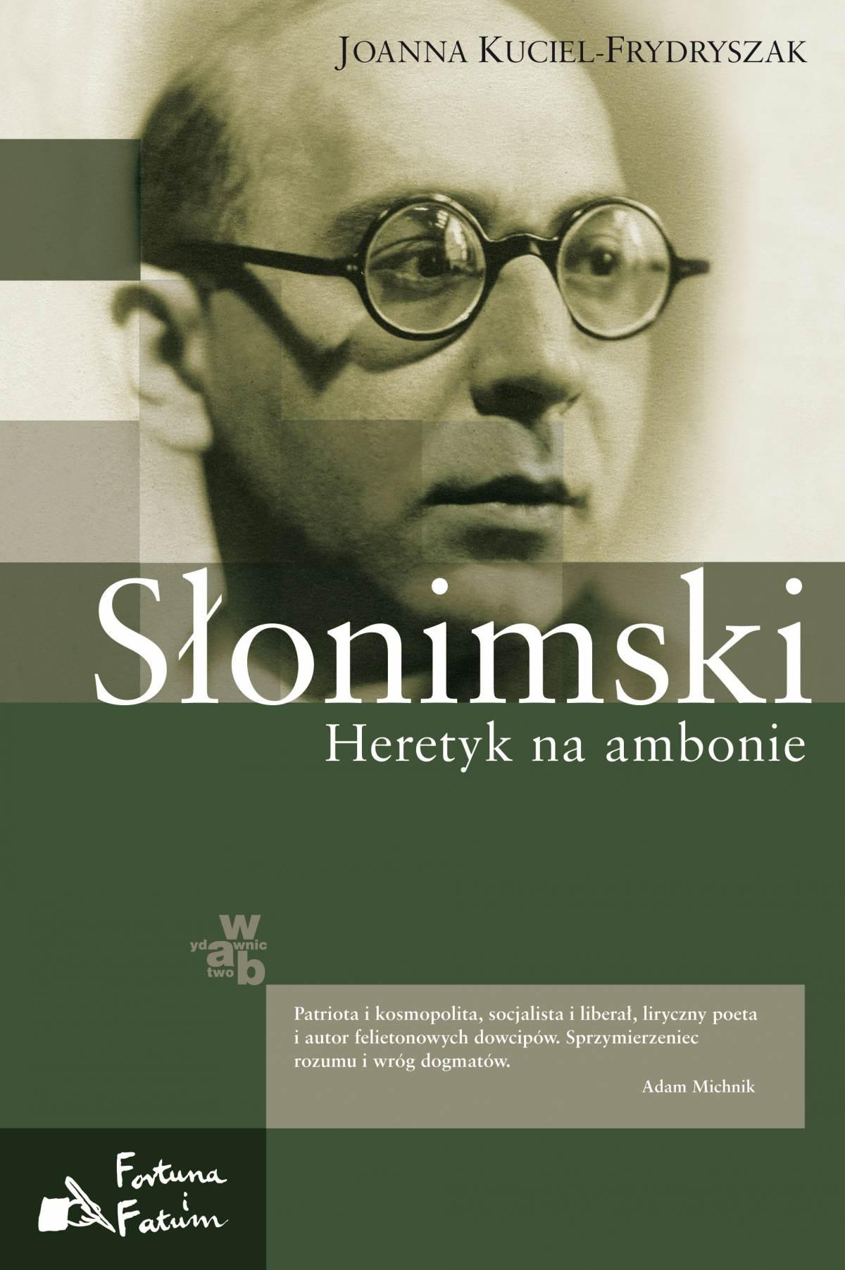 Słonimski. Heretyk na ambonie - Ebook (Książka EPUB) do pobrania w formacie EPUB