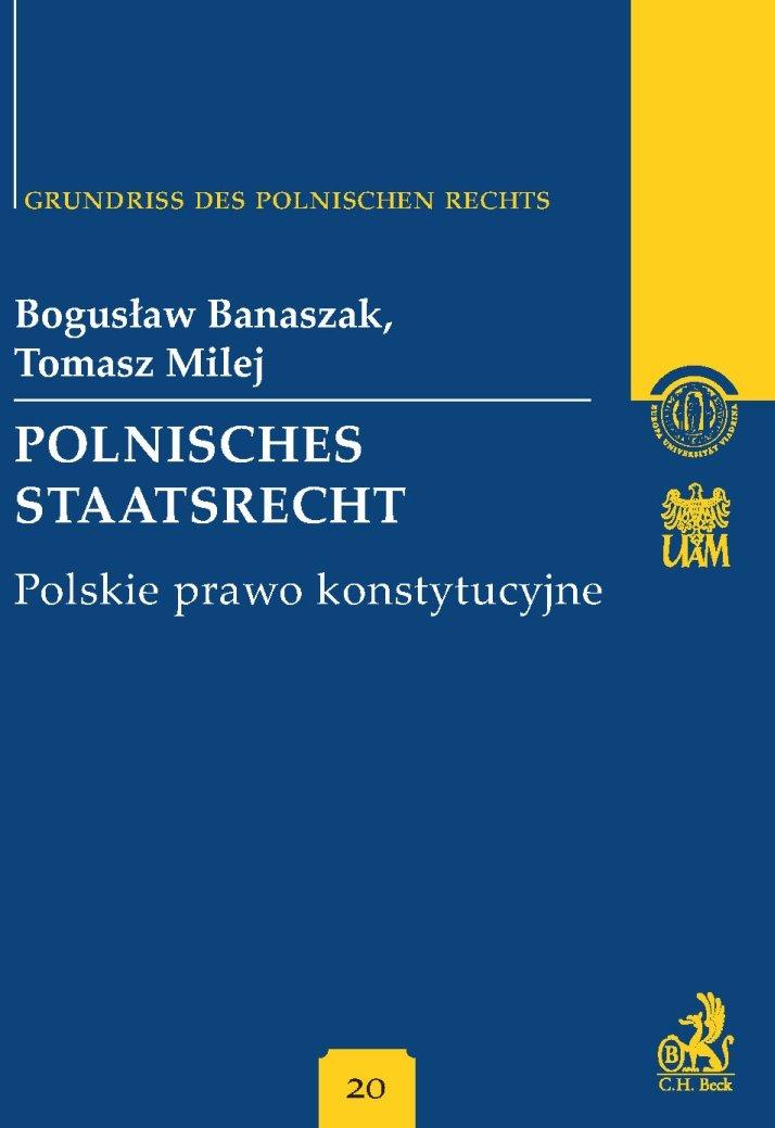 Polnisches Staatsrecht. Polskie prawo konstytucyjne Band 20 - Ebook (Książka PDF) do pobrania w formacie PDF