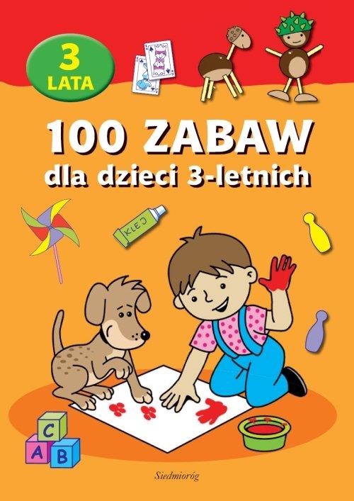 100 zabaw dla dzieci 3-letnich - Ebook (Książka EPUB) do pobrania w formacie EPUB