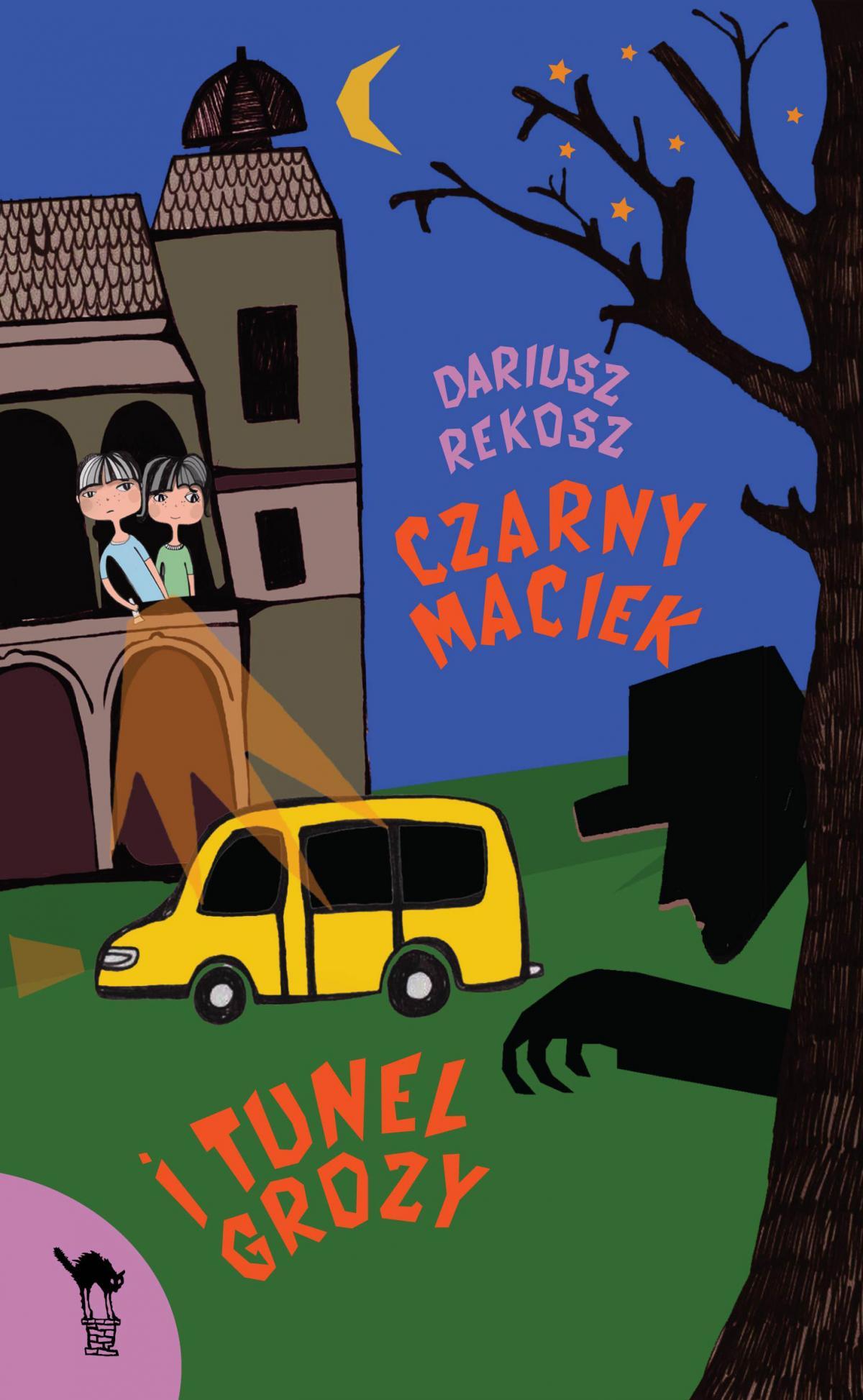 Czarny Maciek i tunel grozy - Ebook (Książka na Kindle) do pobrania w formacie MOBI
