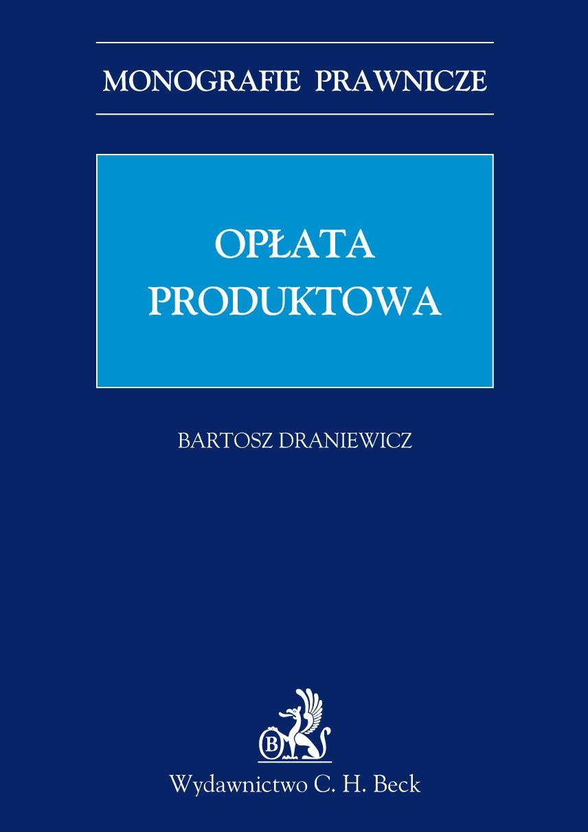 Opłata produktowa - Ebook (Książka PDF) do pobrania w formacie PDF