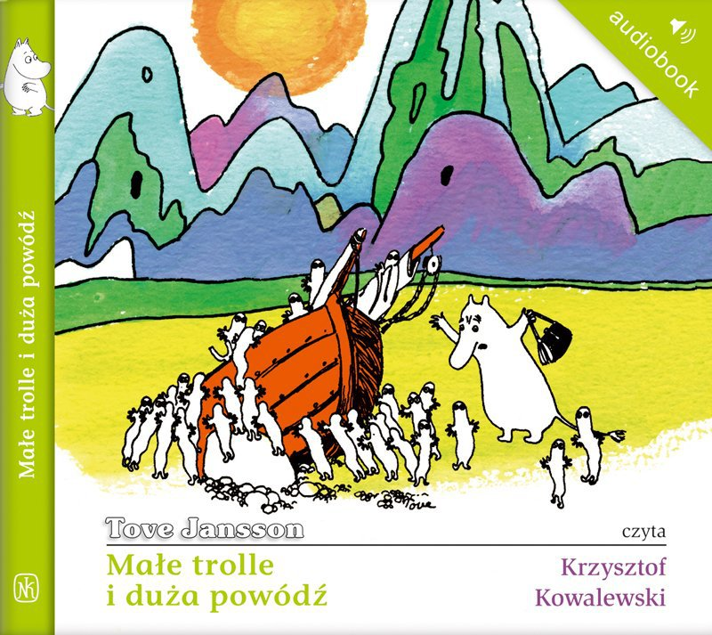 Małe trolle i duża powódź - Audiobook (Książka audio MP3) do pobrania w całości w archiwum ZIP