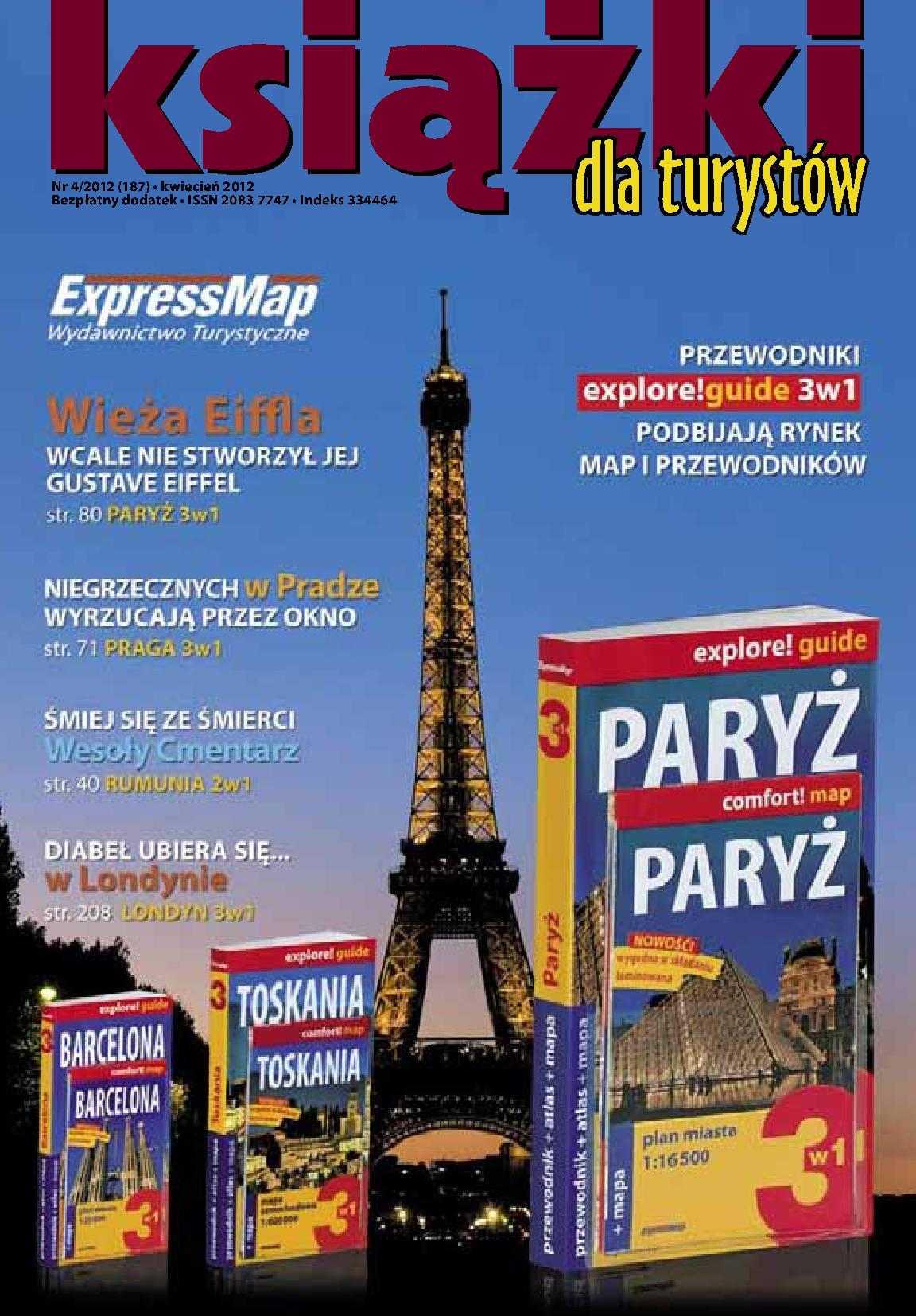 Książki dla turystów Nr 4/2012 (187) - Ebook (Książka PDF) do pobrania w formacie PDF