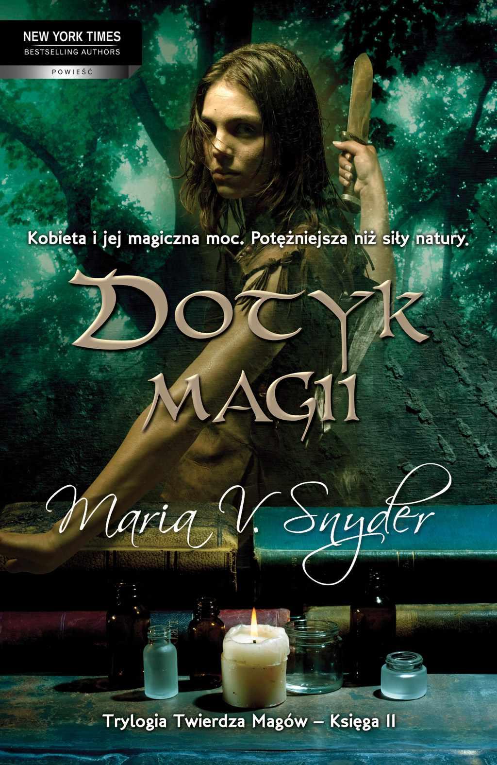 Dotyk magii - Ebook (Książka EPUB) do pobrania w formacie EPUB