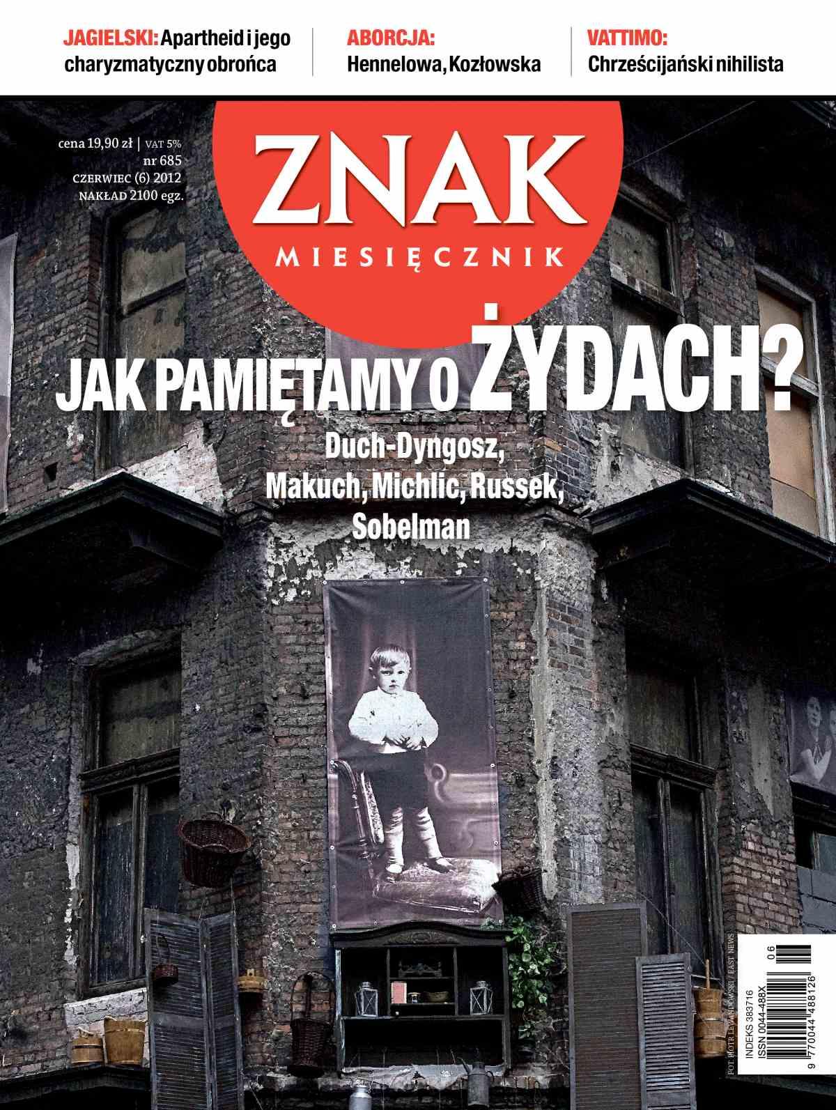 Miesięcznik Znak. Czerwiec 2012 - Ebook (Książka PDF) do pobrania w formacie PDF